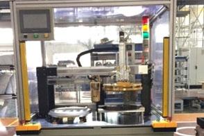 机器人显示屏涂布装配机