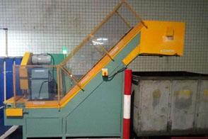 废料收集输送线改造