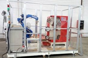 抛光机机器人调试